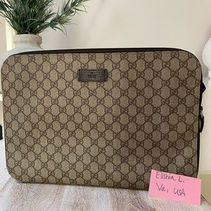 🦄 GUCCI LAPTOP SLEEVE AUTHENTIC 🦄
